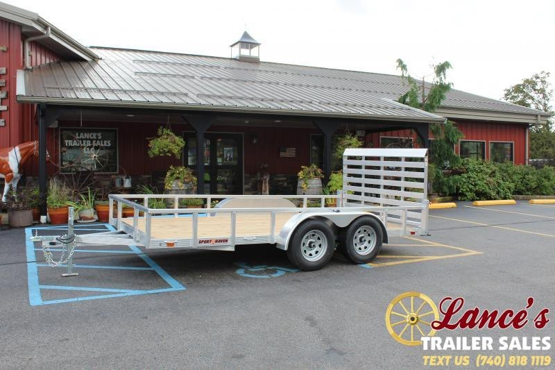 2021 Sport Haven 7'x14' Utility Trailer