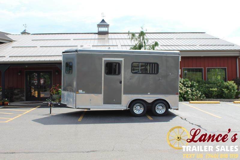 2016 Homesteader 2 Horse Straight Load Horse Trailer