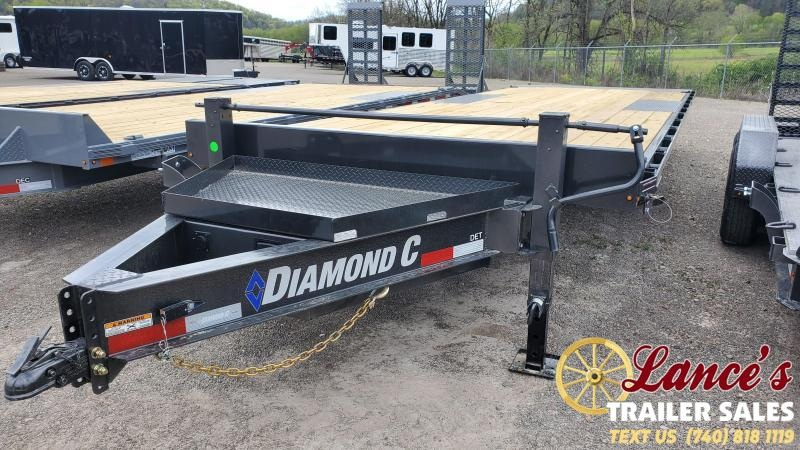 2021 Diamond C 24' Deck Over Tilt Equipment Trailer