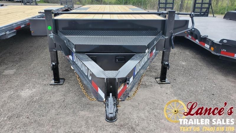 2021 Diamond C 24' Deck Over Tilt Equipment Trailer