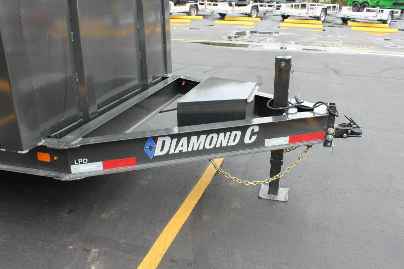 2022 Diamond C 14' High Side Dump Trailer