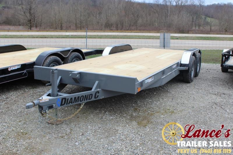 2020 Diamond C 20' Open Car Hauler