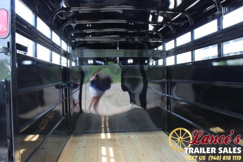 2021 Corn Pro 14' Livestock Trailer