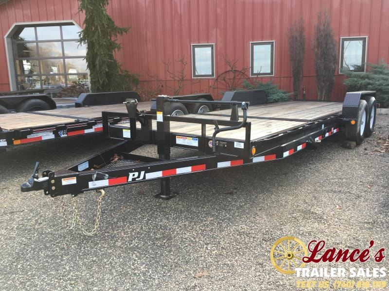 "2019 PJ 82"" x 22Ft. 6"" Channel Tilt Equipment Trailer"