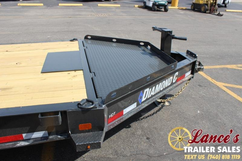 2021 Diamond C 24' Tri-Axle Tilt Equipment Trailer