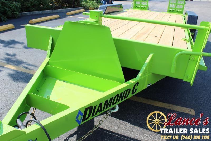 2020 Diamond C 20' Equipment Trailer