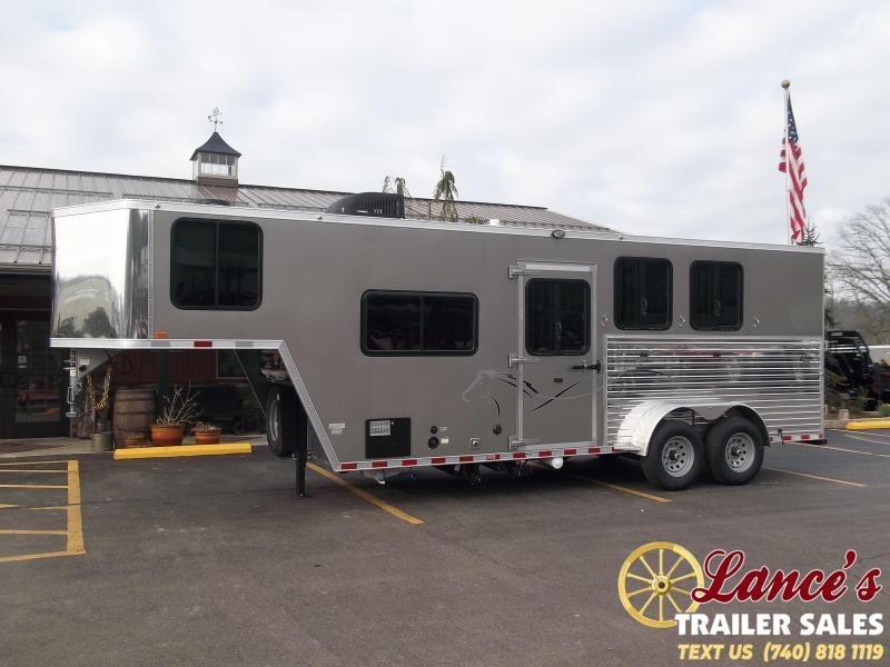 2021 Harmar 3 Horse Slant Load Horse Trailer