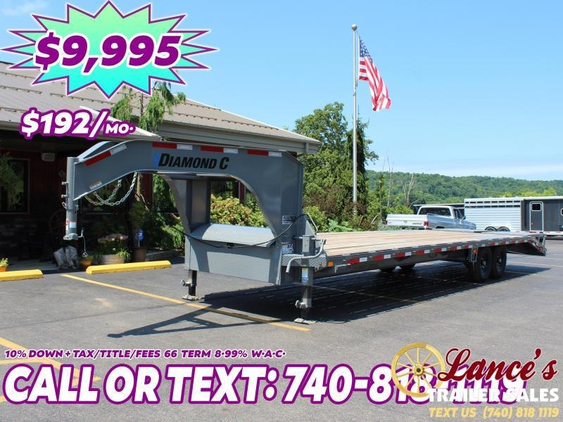2020 Diamond C 30' (25+5) Equipment Trailer