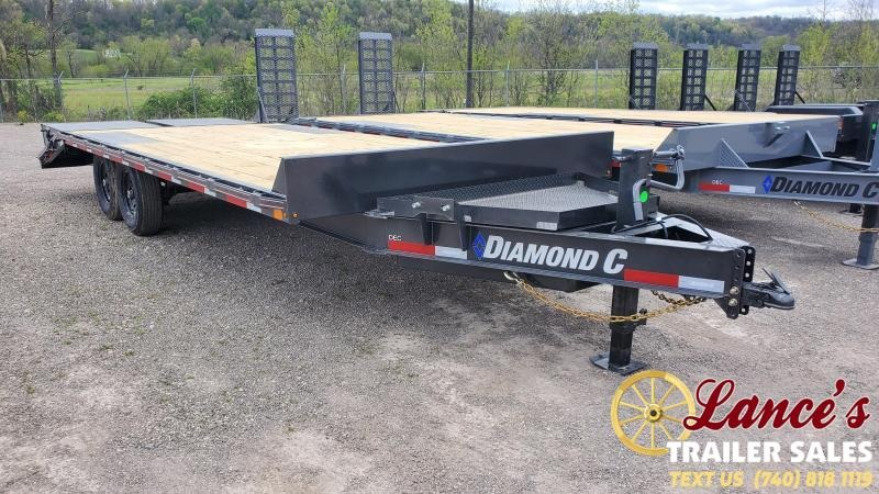 2021 Diamond C 22' Deckover Equipment Trailer