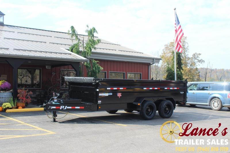 2021 PJ 16' HD Dump Trailer