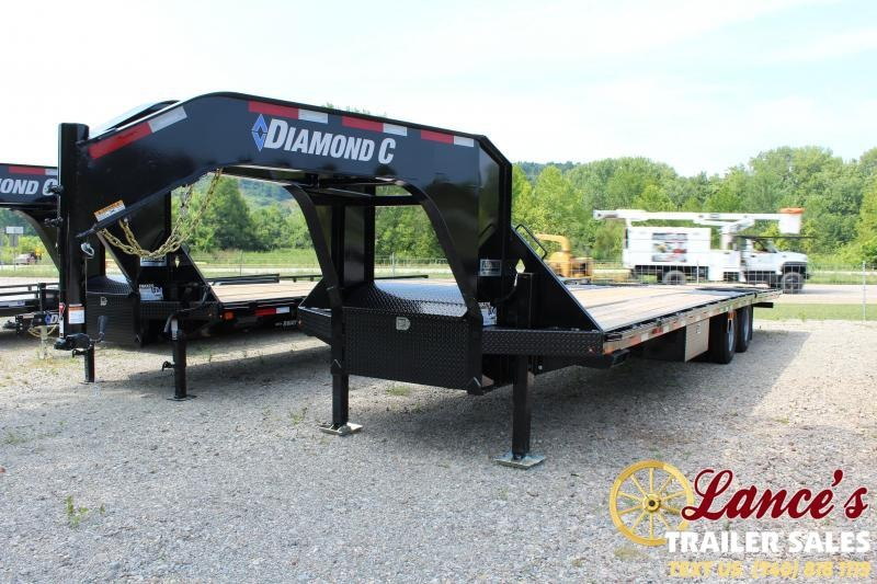 "2019 Diamond C 102"" X 32Ft. Equipment Trailer"