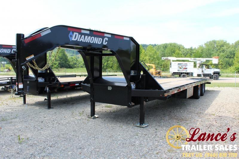 "2019 Diamond C 102"" X 32Ft. Equipment Trailer"