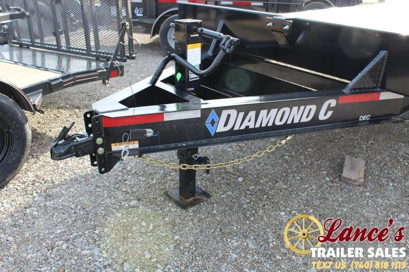 "2020 Diamond C Trailers 102""x24' Equipment Trailer"
