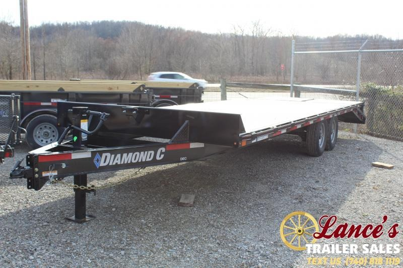 "2020 Diamond C Trailers 102""x24' Equipment Trailer"