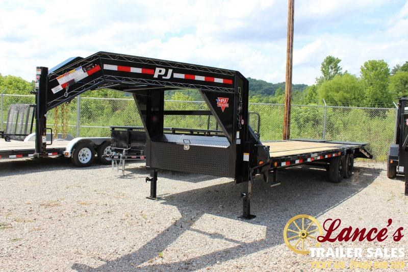 "2020 PJ 102"" x 25 Ft. Equipment Trailer"