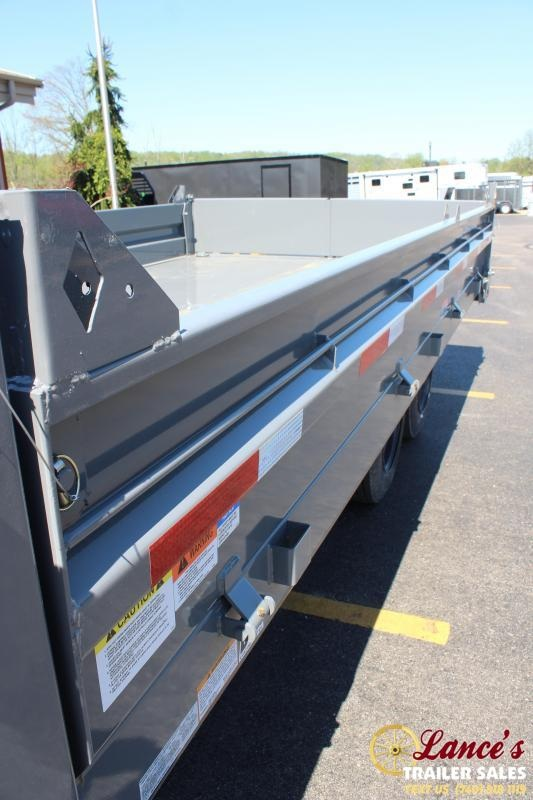 "2020 Diamond C 96""x16' Deck-Over Dump Trailer"