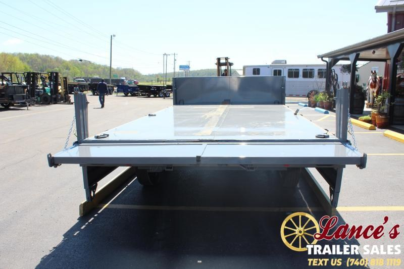 "2020 Diamond C 96""x16' Deck-Over Dump Trailer"