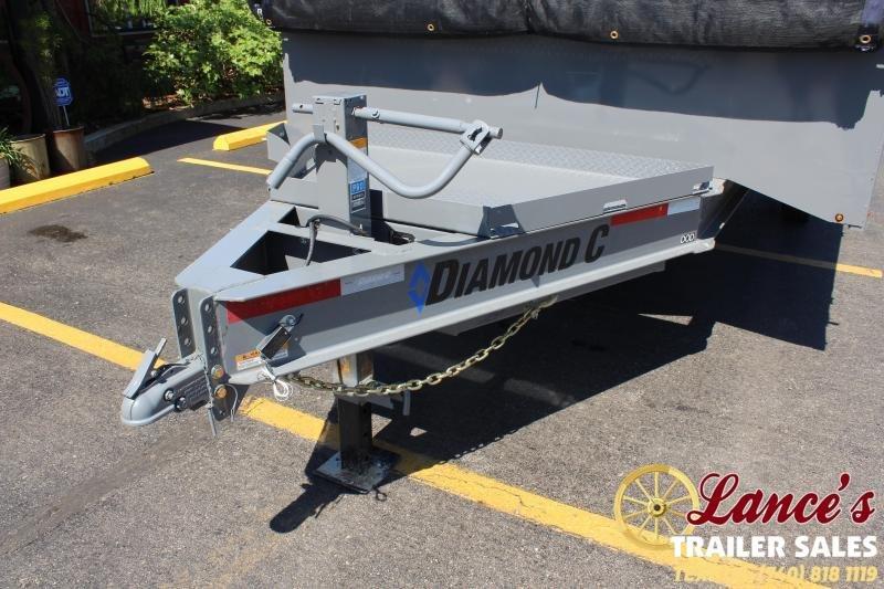 2021 Diamond C 16' Deck-Over Dump Trailer