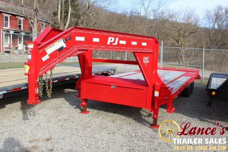 2020 PJ 20+5 Equipment Trailer