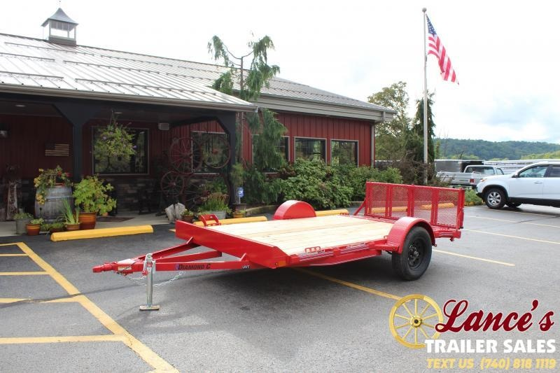 "2020 Diamond C 77""x12' Utility Trailer"