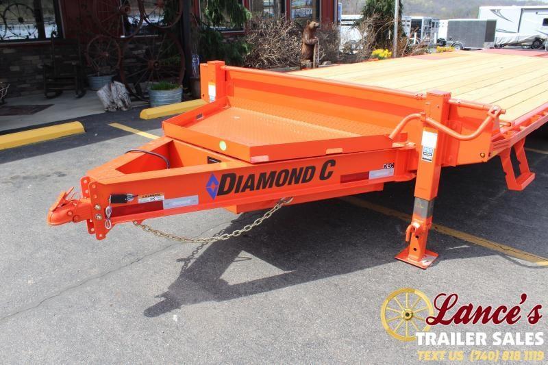 2021 Diamond C 24' Equipment Trailer