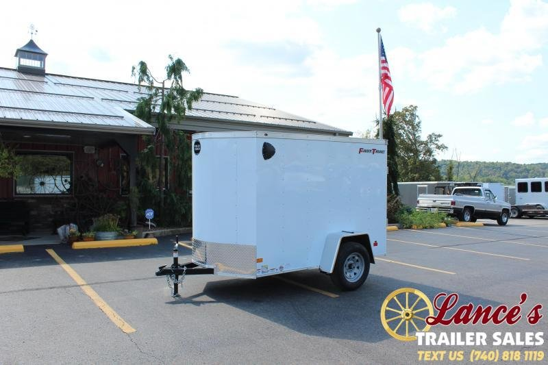 2021 Wells Cargo 5'x8' Enclosed Cargo Trailer