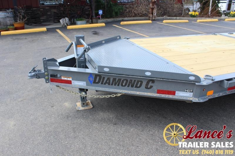 2021 Diamond C 24' Tilt Equipment Trailer