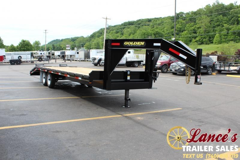 2021 Golden 25' (20+5) Equipment Trailer