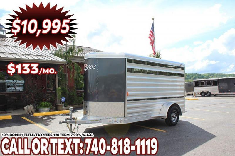 2020 Exiss 11' LOW PRO PEN Livestock Trailer