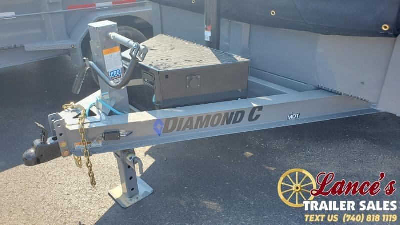 2021 Diamond C 12' Dump Trailer