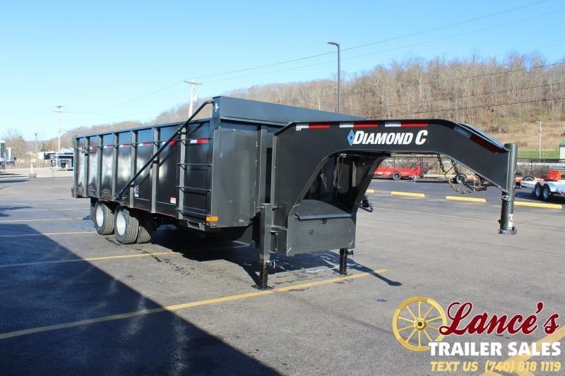 2021 Diamond C 20' Workhorse Dump Trailer
