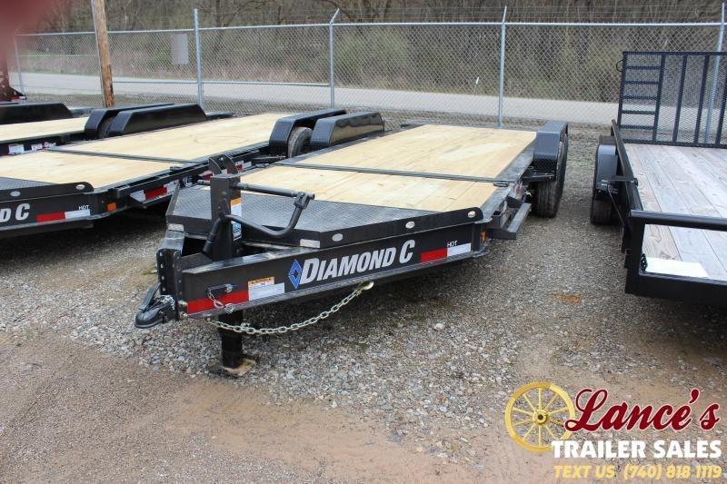 2021 Diamond C Trailers 20' Tilt Equipment Trailer