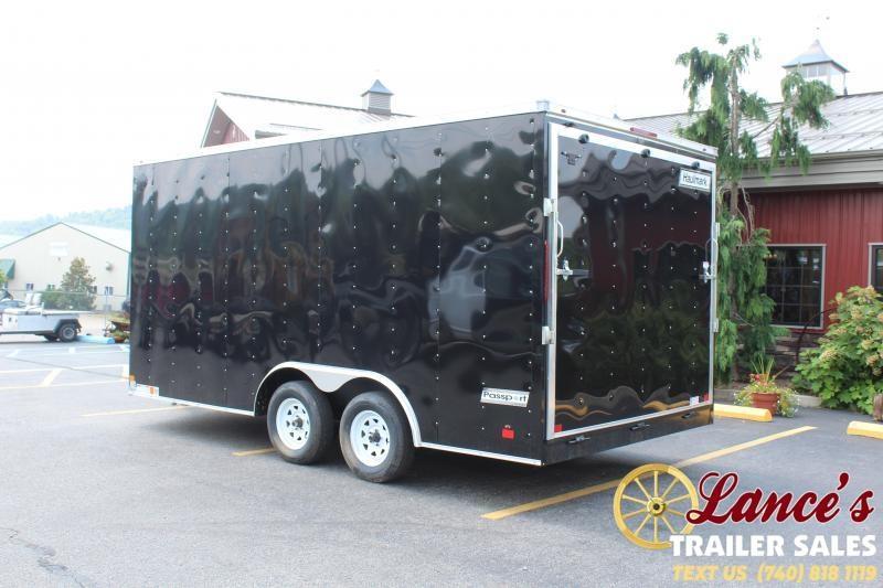 2021 Haulmark 16' Enclosed Cargo Trailer