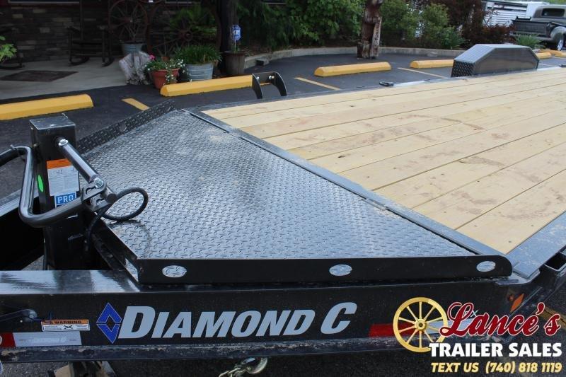 2021 Diamond C 24' HD Equipment Trailer