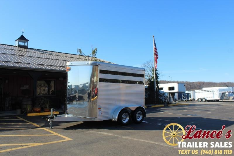 2015 Sundowner 12' Livestock Trailer
