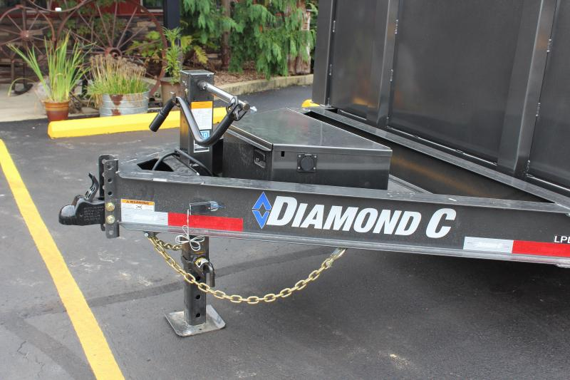 2022 Diamond C 16' High Side Dump Trailer