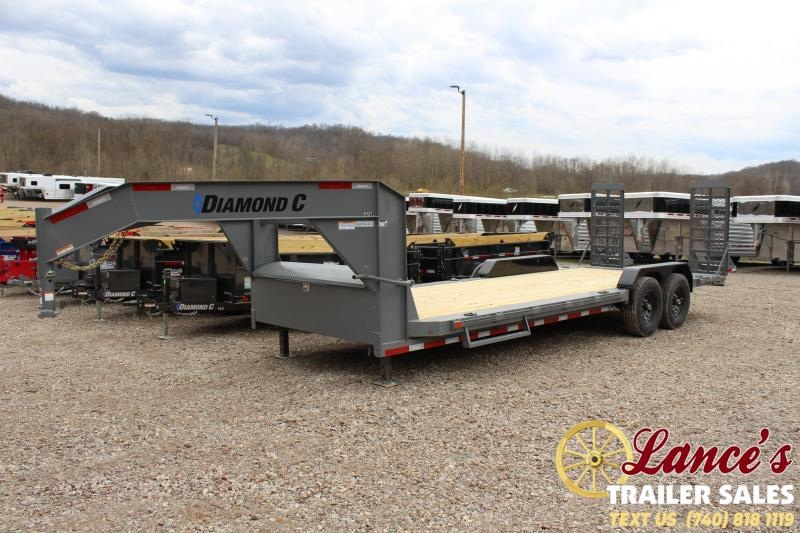"2020 Diamond C 82""x22' Equipment Trailer"