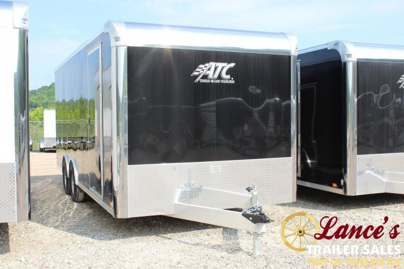 "2019 ATC 8'6""x20' Enclosed Car Hauler"
