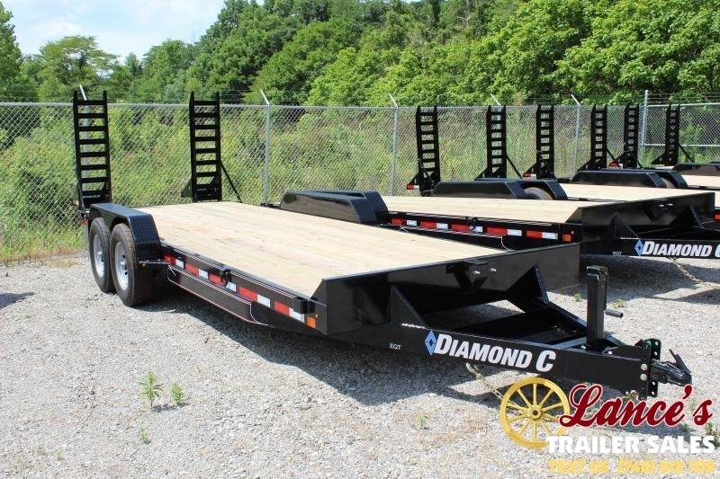 "2020 Diamond C 82""x18' Equipment Trailer"