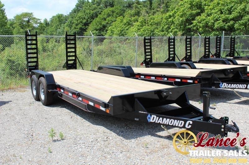 "2020 Diamond C 82""x18' Equipment Trailer"