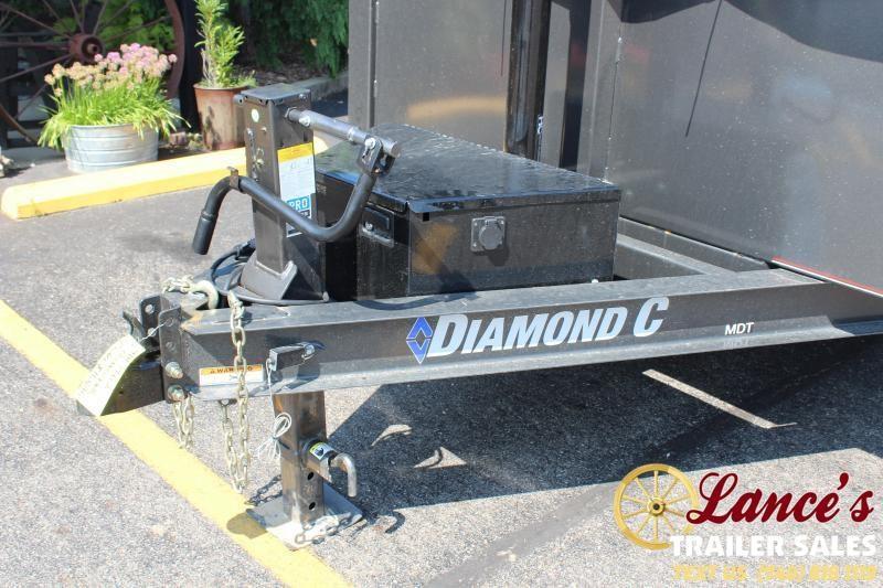 2021 Diamond C 12' High-Side HD Dump Trailer