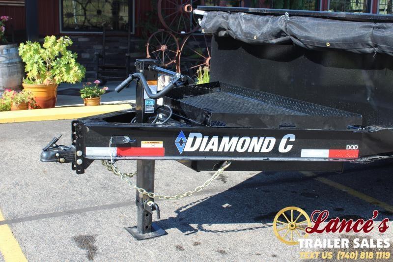 2022 Diamond C 16' Deck-Over Dump Trailer