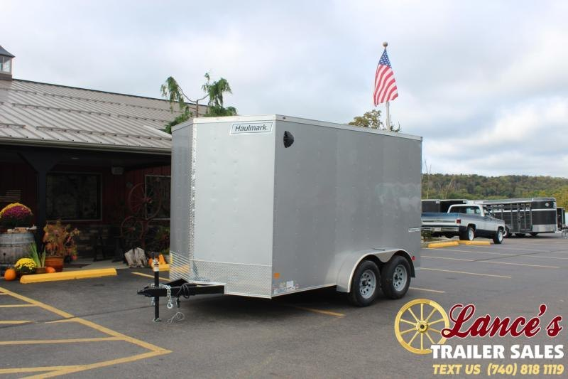 2021 Haulmark 12' Enclosed Cargo Trailer