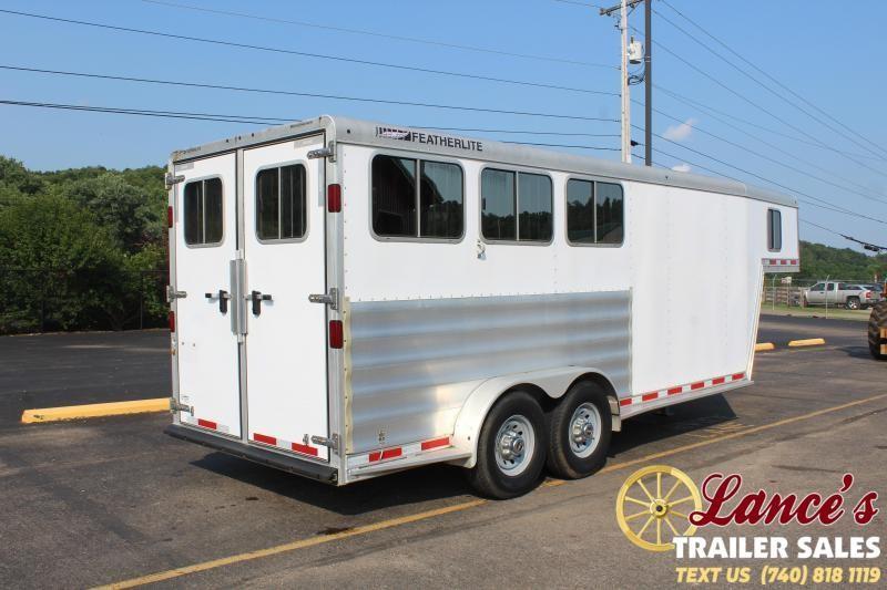 2013 Featherlite 3 Horse Slant Load Horse Trailer