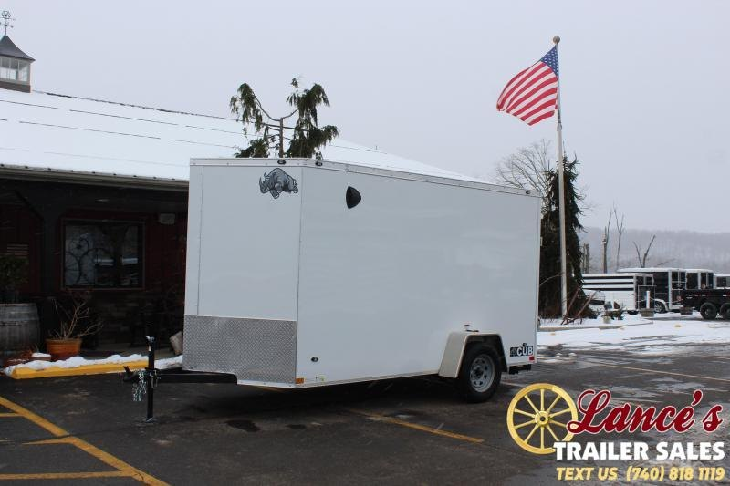 2021 Rhino 12' Enclosed Cargo Trailer