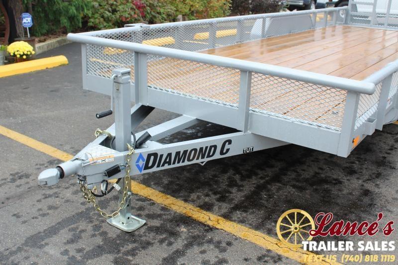 2020 Diamond C 22' Utility Trailer