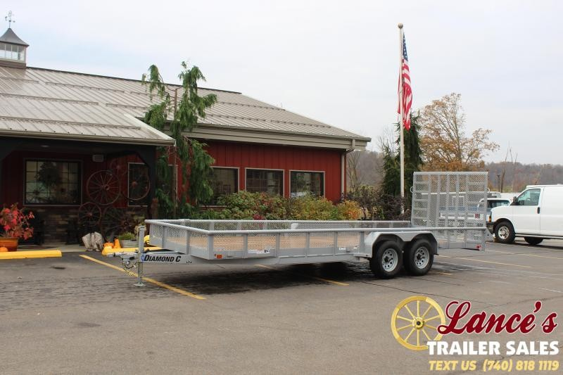2020 Diamond C 22' Utility Trailer