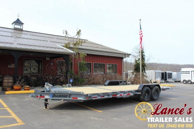 "2020 Diamond C Trailers 82""x22' Tilt Equipment Trailer"