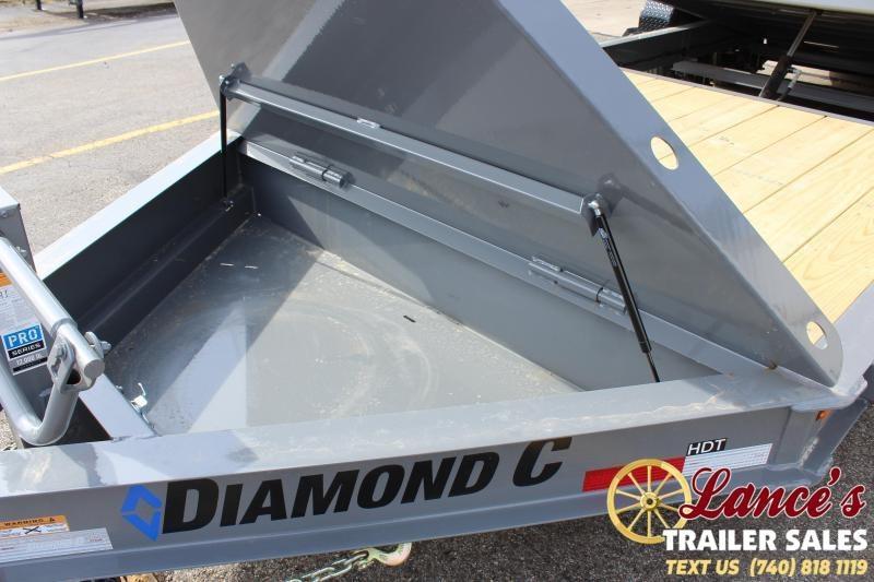 """2020 Diamond C Trailers 82""""x22' Tilt Equipment Trailer"""