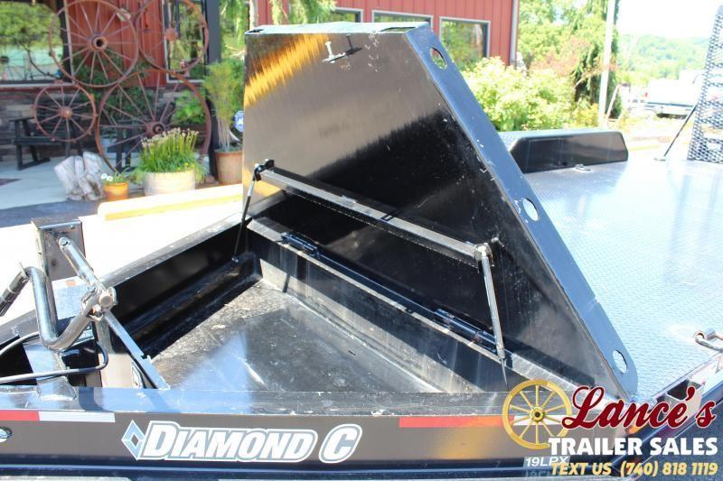 2017 Diamond C 16' Equipment Trailer